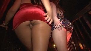 amazing ass club lesbian lick
