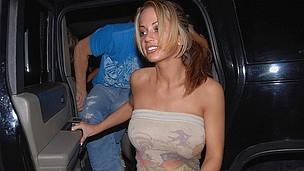 ass blonde blowjob club dance