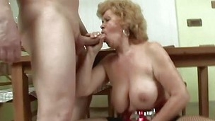 blowjob bra granny hairy job