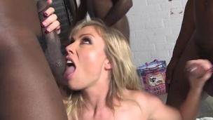 big cock cock femdom interracial