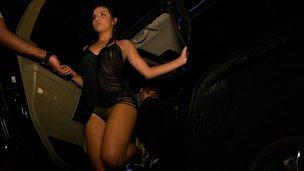 ass babe club dancing dress