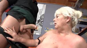 ass bar granny panties pussy